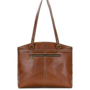 Patricia Nash Leather Tooled Poppy Tote Bag